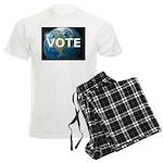 EARTHVOTE Men's Light Pajamas