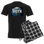 EARTHVOTE Men's Dark Pajamas
