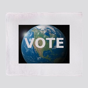 EARTHVOTE Throw Blanket