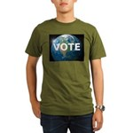 EARTHVOTE Organic Men's T-Shirt (dark)