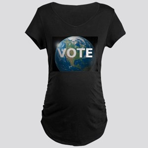 EARTHVOTE Maternity Dark T-Shirt