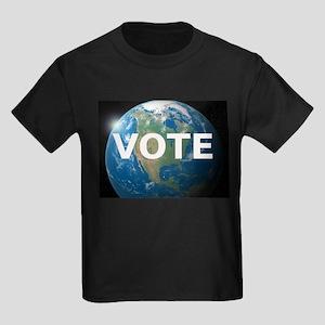 EARTHVOTE Kids Dark T-Shirt