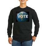 EARTHVOTE Long Sleeve Dark T-Shirt