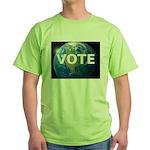 EARTHVOTE Green T-Shirt