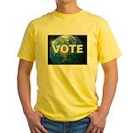 EARTHVOTE Yellow T-Shirt