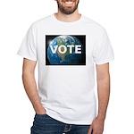 EARTHVOTE White T-Shirt
