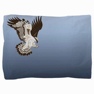 Aerial Predator Pillow Sham