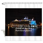 Oasis Of The Seas Shower Curtain