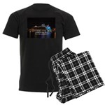 Oasis of the seas Men's Dark Pajamas