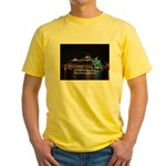 Oasis of the seas Yellow T-Shirt