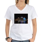 Oasis of the seas Women's V-Neck T-Shirt