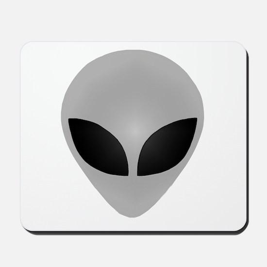 Alien Head Mousepad