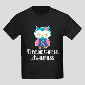 Thyroid Cancer Owl T-Shirt