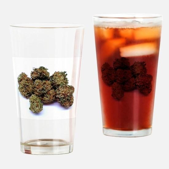 Humboldt Buds Drinking Glass