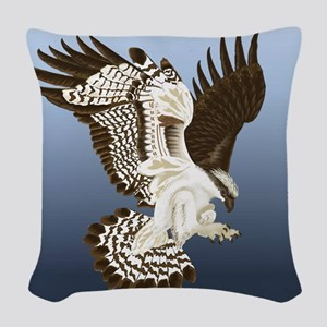 Aerial Predator Woven Throw Pillow