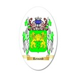 Reinaud 35x21 Oval Wall Decal