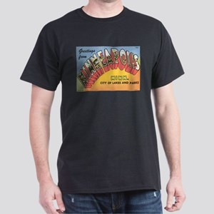 Minneapolis Postcard Dark T-Shirt
