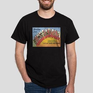 Minneapolis Postcard Dark T-Shirt