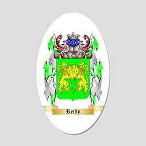 Reilly 20x12 Oval Wall Decal