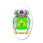 Reilly 35x21 Oval Wall Decal
