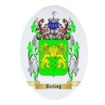 Reiling Oval Ornament