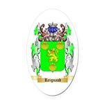 Reignaud Oval Car Magnet