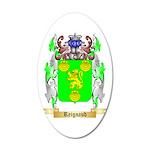 Reignaud 20x12 Oval Wall Decal