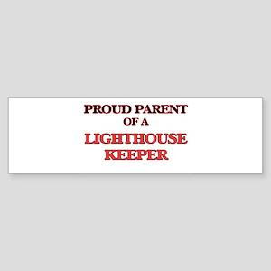 Proud Parent of a Lighthouse Keeper Bumper Sticker