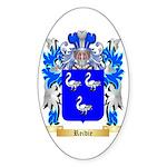 Reidie Sticker (Oval 50 pk)