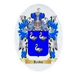 Reidie Oval Ornament