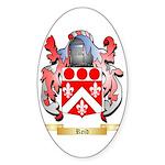 Reid Sticker (Oval 50 pk)