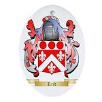 Reid Oval Ornament
