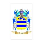 Rehorek Sticker (Rectangle 50 pk)