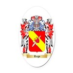 Rego Oval Car Magnet