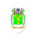 Regnault Oval Car Magnet