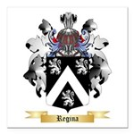Regina Square Car Magnet 3