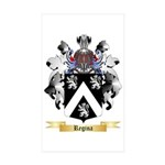 Regina Sticker (Rectangle 50 pk)