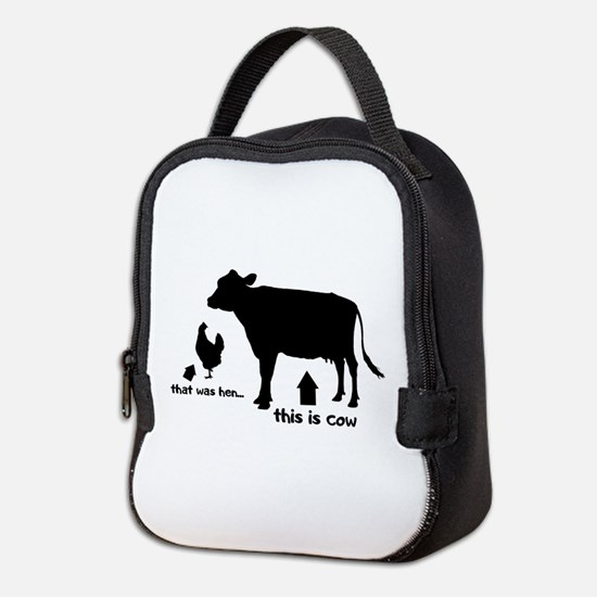 That was hen... Neoprene Lunch Bag