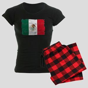 Mexican Flag Women's Dark Pajamas