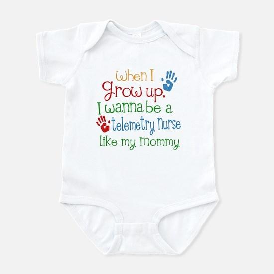 Telemetry Nurse Like Mommy Infant Bodysuit