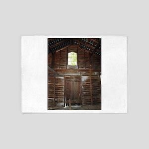 Inside The Barn 5'x7'Area Rug