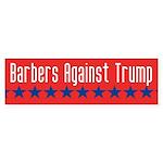 Barbers Against Trump Bumper Sticker