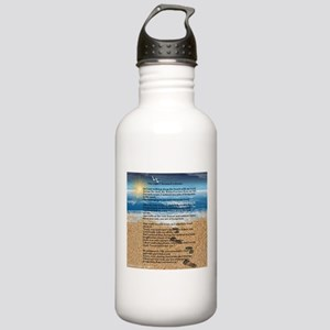 Footprints in the Sand Stainless Water Bottle 1.0L