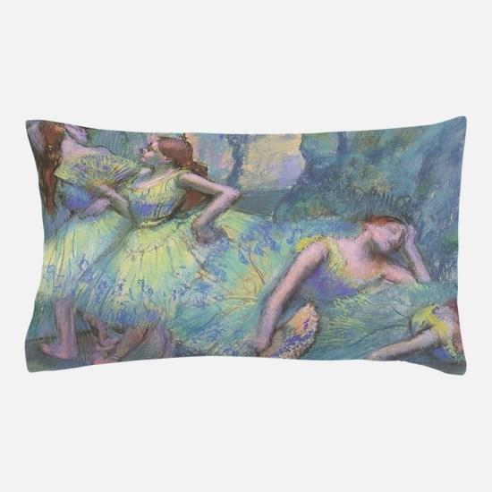 Ballet Dancers by Edgar Degas Pillow Case