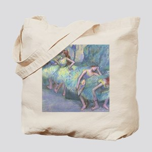 Ballet Dancers by Edgar Degas Tote Bag