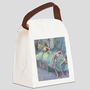 Ballet Dancers by Edgar Degas Canvas Lunch Bag