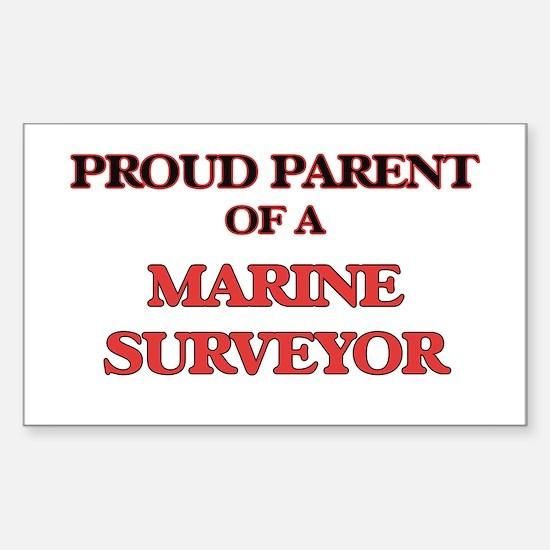 Proud Parent of a Marine Surveyor Decal