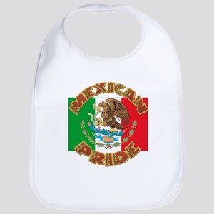 Mexican Pride With Mexico Flag Bib