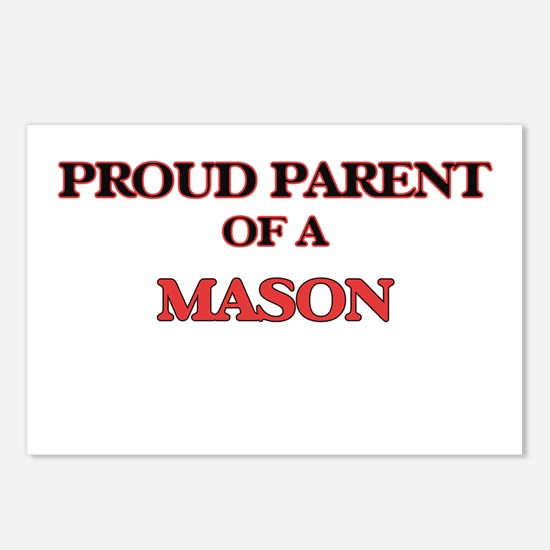 Proud Parent of a Mason Postcards (Package of 8)