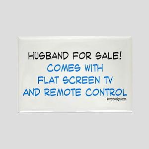 Husband For Sale! Rectangle Magnet